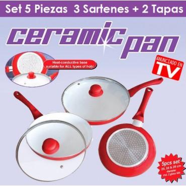 Ceramic Pan Pack Sartenes