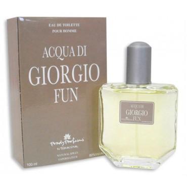 Perfume Aqua Giorgio Fun equivalente a Aqua di Gio Giorgio Armani