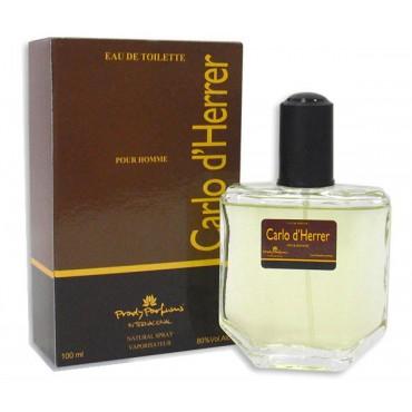 Perfume Carlo D'Herrer equivalente a Carolina Herrera Clásico Hombre