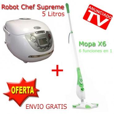 Robot Supreme Chef + Mopa X6