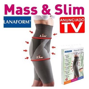 Mass & Slim: Faja moldeadora con  tejido inteligente