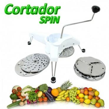 Spin Rallador y Cortador de Verduras