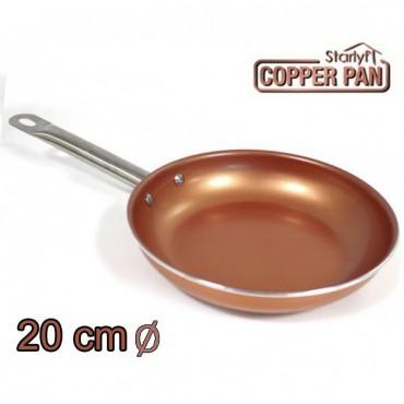 Sartén de Cobre Titanium Copper 20cm