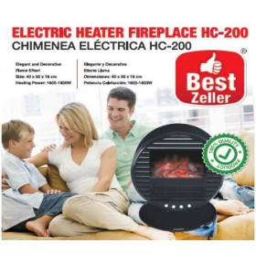Chimenea Eléctrica Circular HC200 *