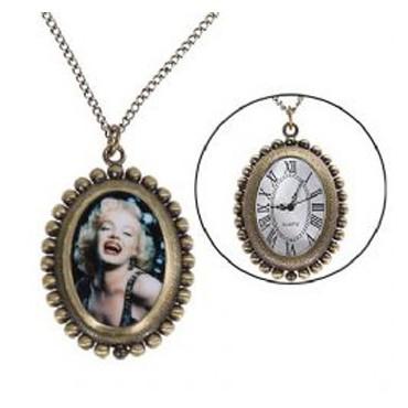 Reloj Colgante Vintage Marilyn
