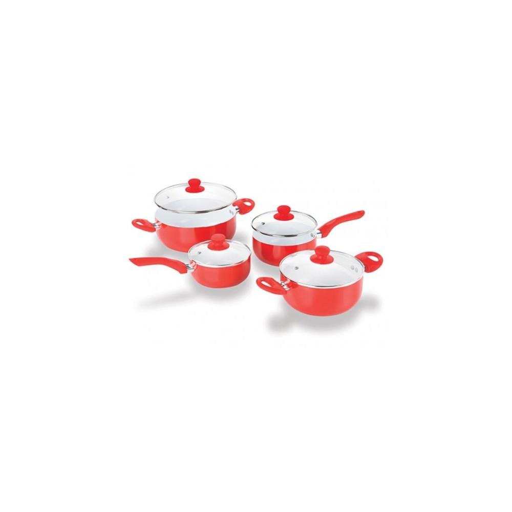 Set Cacerolas y Sarten de Ceramica *