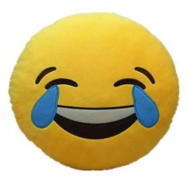 Cojín emoticono Carcajada