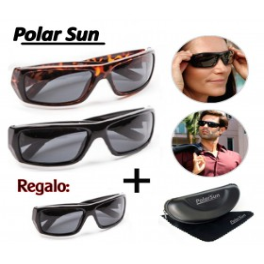 PolarSun Gafas de Sol Pack 3 Gafas