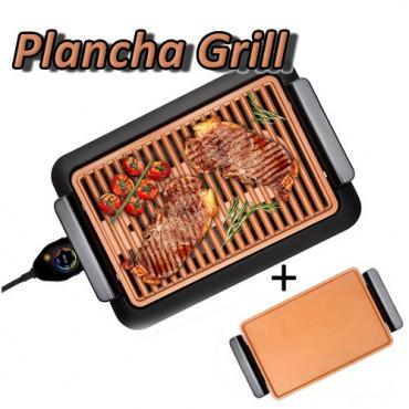 Plancha Grill Cobre sin Humos (2 Bandejas)