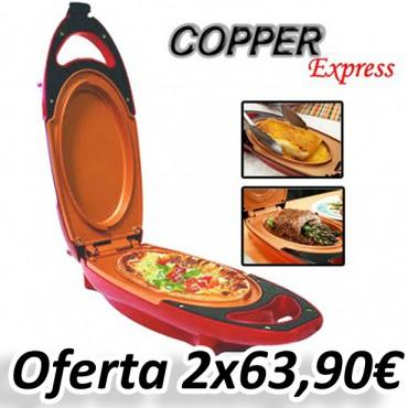 Plancha eléctrica Copper Express