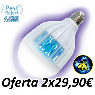 Bombilla Anti Insectos Pest Reject Light Zapper