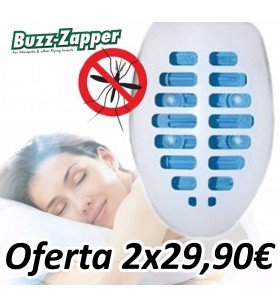 Buzz-Zapper Antimosquitos 2x1