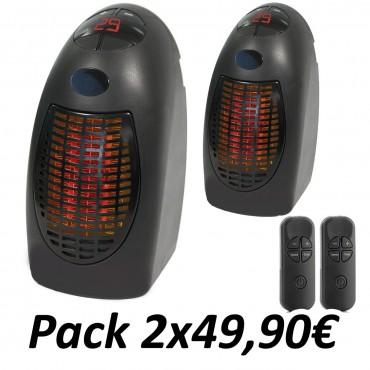 Pack 2 Calefactores Rapid...